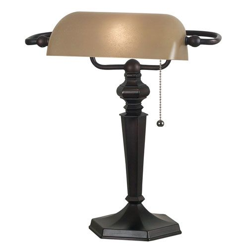 Chesapeake Oil Rubbed Bronze Bankers Lamp