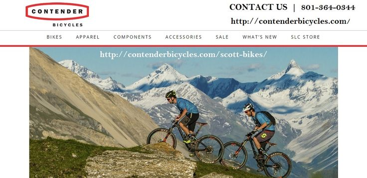 Get scott mountain bikes, pinarello bikes, pinarello road bikes, open cycles and cannondale bikes at very affordable price. For more information contact us 801-364-0344 or visit our website http://contenderbicycles.com