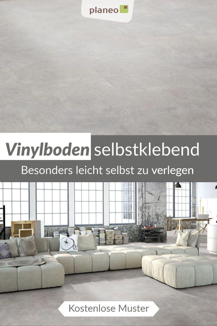vinylboden selbstklebend, besonders leicht zu verlegen in