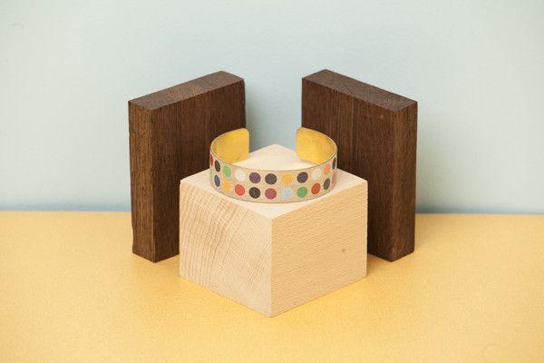Wood'd BRACELET - COLORED POIS