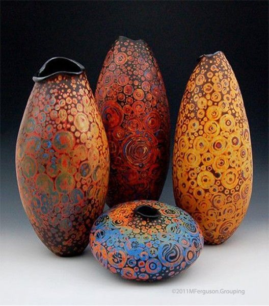 25 best ideas about gourd art on pinterest gourd for Clay pot painting techniques
