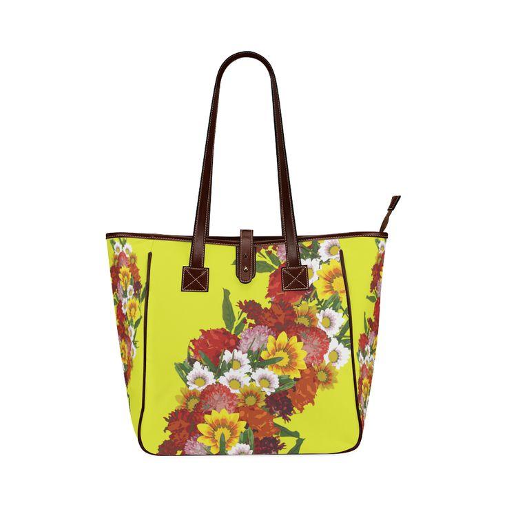 Posie of Flowers Classic Tote Bag (Model 1644)