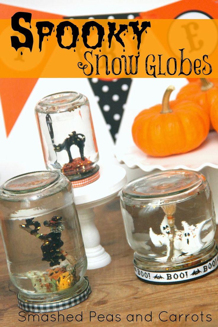 TUTORIAL: Spooky Snow Globes