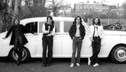 The Beatles' penultimate photo session