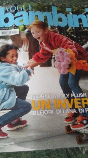 Revista Vogue bambini.  PORTADA