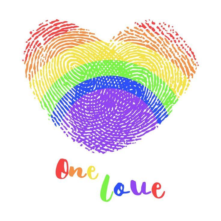 One Love Pride Fingerprints Rainbow – Freemocks