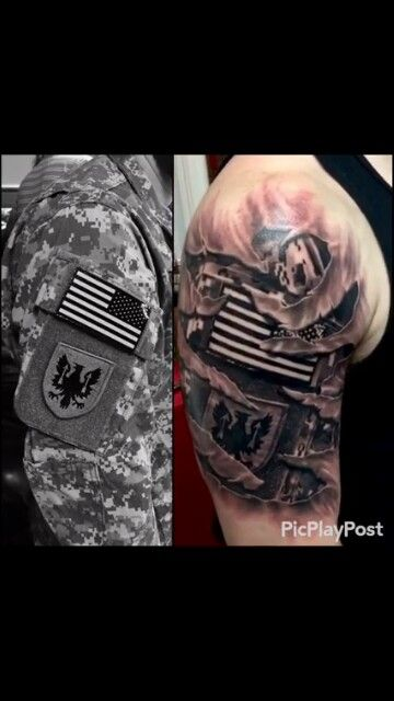 129 best Military Tattoos images on Pinterest | Military tattoos, Army tattoos and Cool tattoos