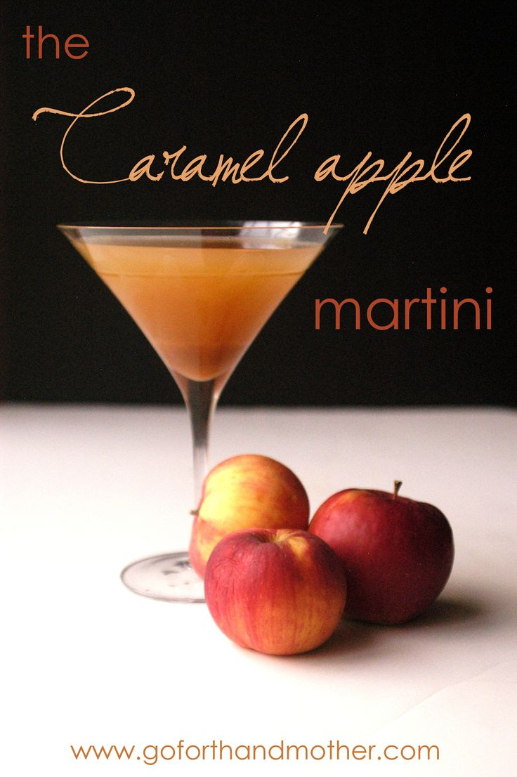 Caramel apple martini, Apple martinis and Caramel apples on Pinterest