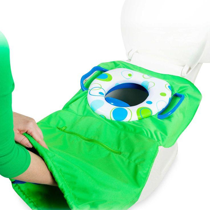 Tottigo™ Pack 'n Potty Travel Potty Seat in Royal Blue