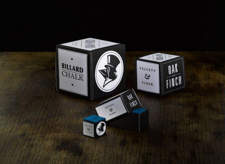 "Too pretty to be true: Imaginary product branding for Billard Care series ""Oak & Finch"" by Marco Störmer, FH Dortmund."