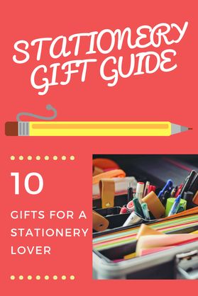 What to buy a stationery lover? Top 10 Gifts to buy - Kerrymay._.Makes