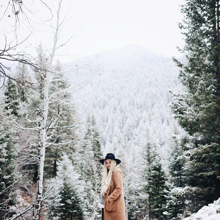 "Mandi Nelson on Instagram: ""Winter today Photo: @benjaminpatch"""