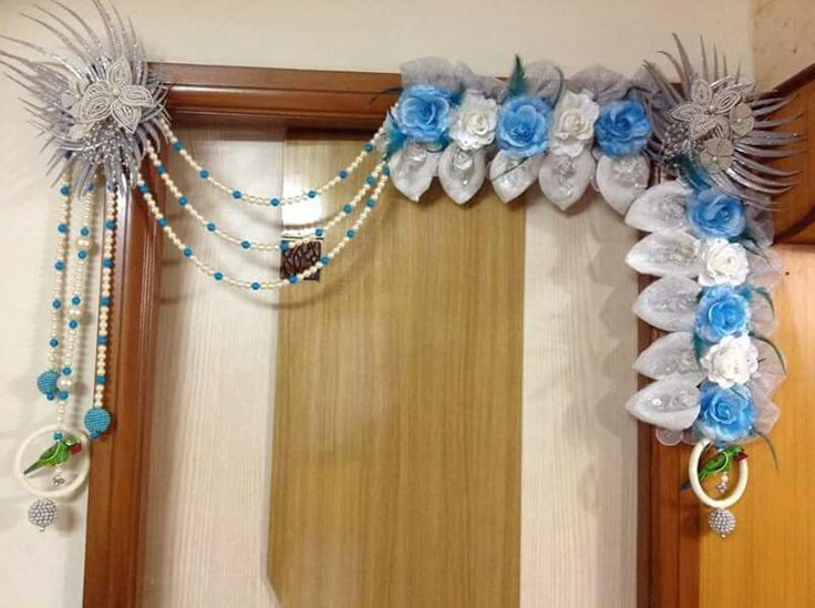 17 best images about toran design on pinterest peacocks for Decorative flowers for crafts