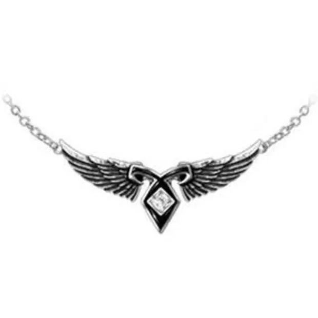 Angel rune necklace