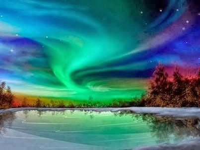 Aurora Borealis, Alaska - Pixdaus  I lived in Anchorage for 1/2 year. This is a magnificent sight to behold.