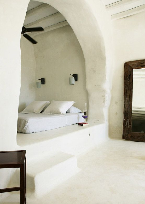 one day, when i get around to building a cob house, this will be our bed...