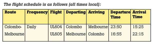 SriLankan launches daily direct flights to Melbourne – Daily Mirror  Travel @VisitSriLanka.com  https://visitsrilanka.com/travel/srilankan-launches-daily-direct-flights-to-melbourne-daily-mirror/ - #AjithDias, #Australia, #Melbourne, #SriLankanAirlines, #Travel, #TravelGoogleNews, #VisitSriLankaCom