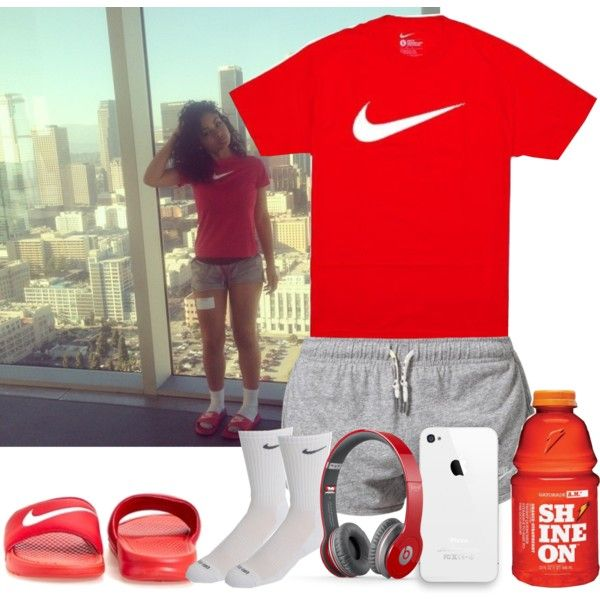 Nike, created by goldenlife on Polyvore