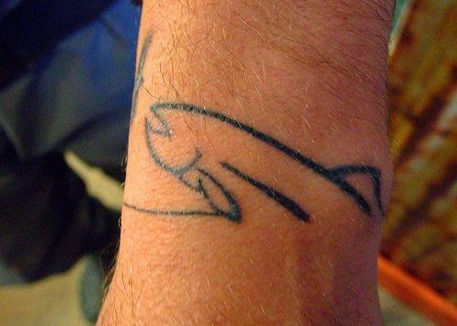 fly fishing tattoo