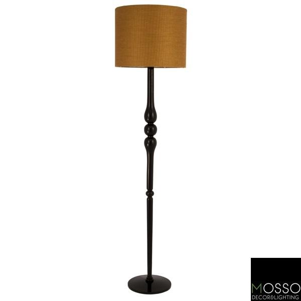 Dulsinea  Floor Lamp (Lambader) Wooden Floor Lamp -Handcrafted