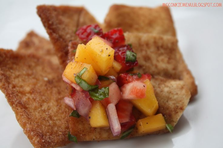 Strawberry Mango Salsa | McConkie Menu