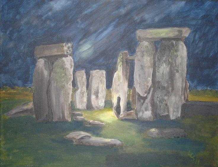 Stonehenge - Acrylic