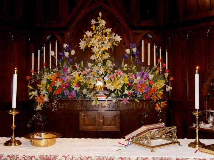 55 Best Images About Easter Sunday Church Altar On