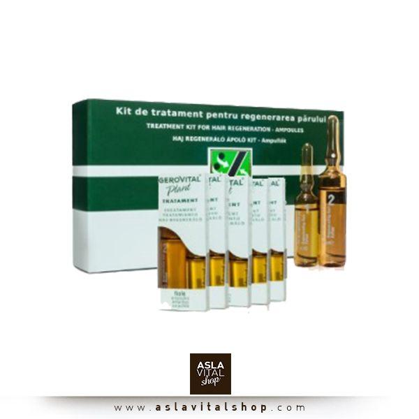 Saç Canlandırıcı Bakım Kiti Ampulleri Gerovital Plant saç bakım kiti ampulleri A,E Vitamini,B5,Keratin ile Bitkisel ekstreler içeriğiyle saç kaybı ile savaşır, kuruluk ve oksitlenmenin önüne geçer, elastikiyet kaybı ve aşırı yağlanmayı önleyerek sağlıklı saçlara kısa sürede kavuşmanıza yardımcı olur. Saç Canlandırıcı Bakım Kiti Ampulleri 150 TL! www.aslavitalshop.com