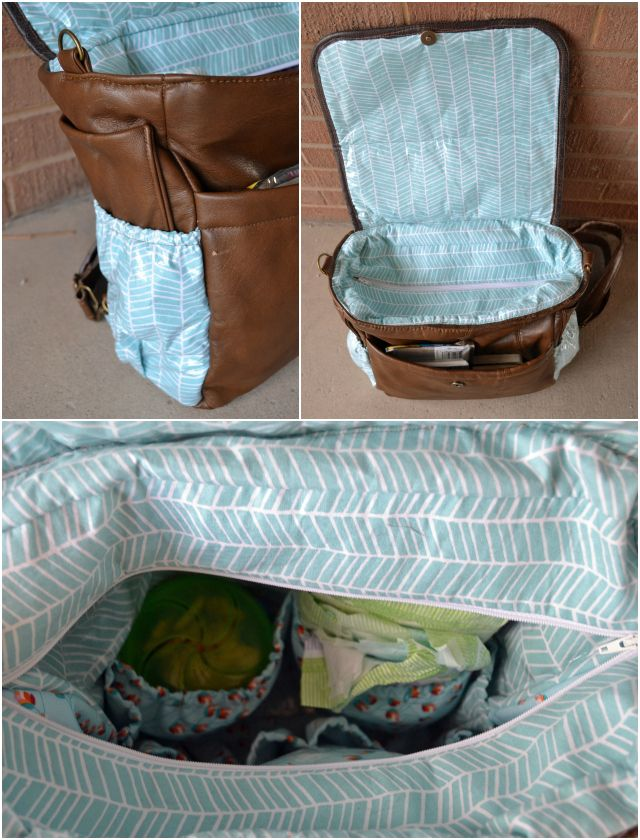 I made myself a cute diaper bag  right before Henry was born and loved it. (I even made a free diaper bag pattern and tutorial .) It has ...