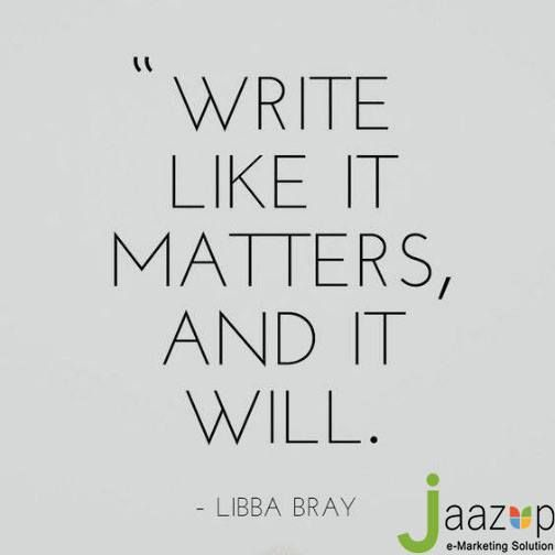 It should be written in a way that is approachable to the masses. There should be a balance for the industry professionals and general audience. #ContentWritingServices #CreativeWriting - http://ift.tt/1HQJd81