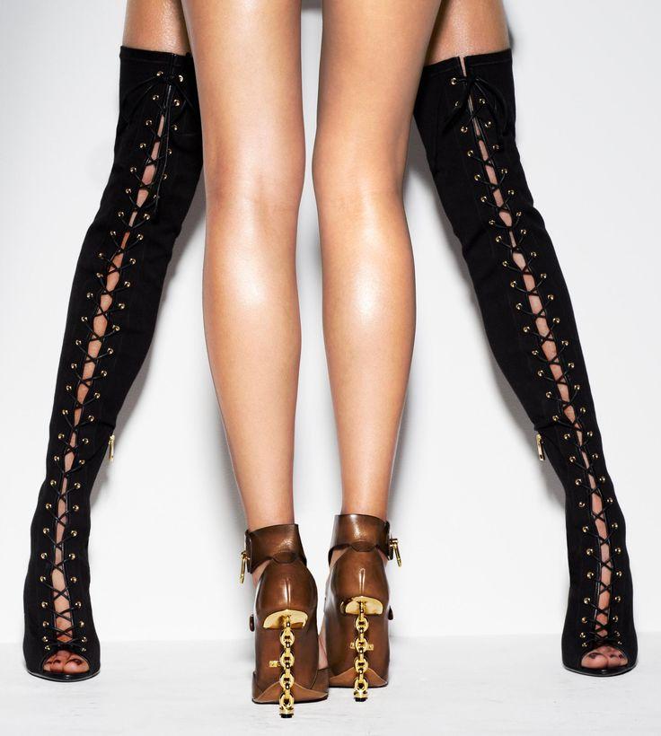 ruthenium lace up open toe sandal boot shoes