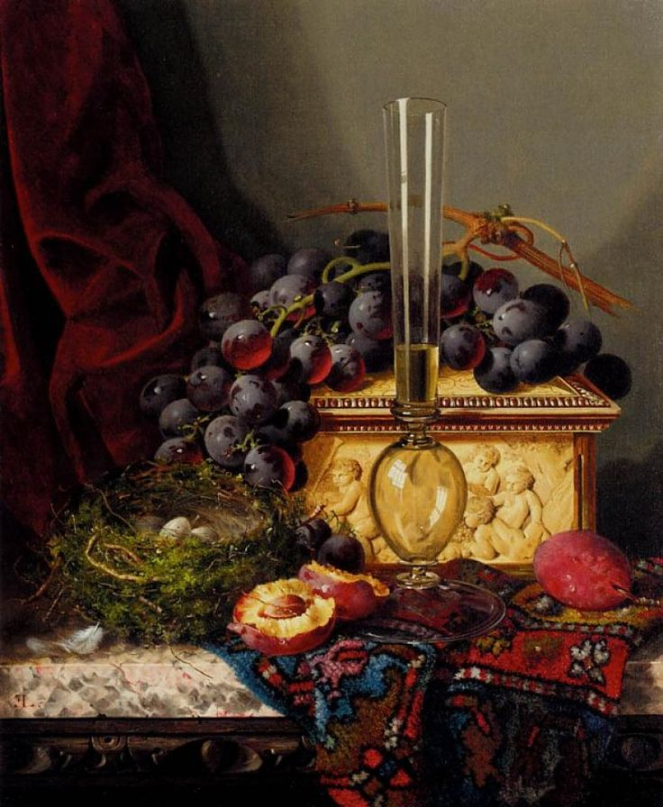 STILL LIFE WITH FRUIT, BY EDWARD LADELL