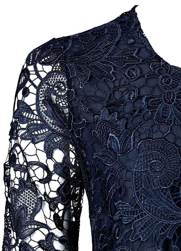 Longline Floral Lace Jacket