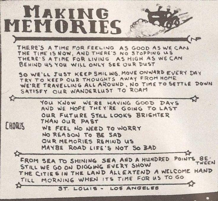 Rush Song Lyrics