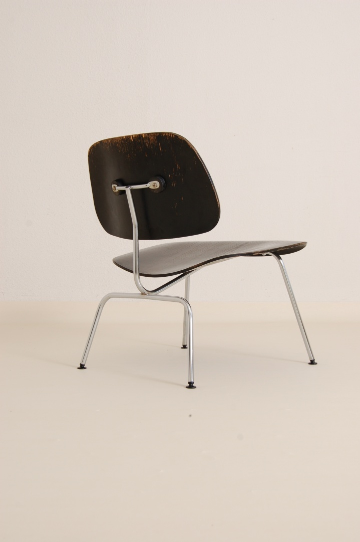 Charles and Ray Eames LCM chair designed in 1946