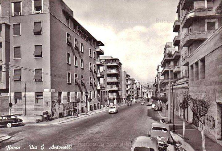 Roma Sparita - Via Giovanni Antonelli