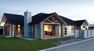 Image result for NZ black single storey house