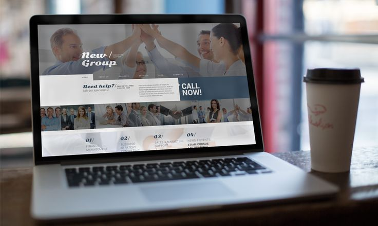 A Dose of Trendy Design. Free WordPress Theme for Consulting Firm