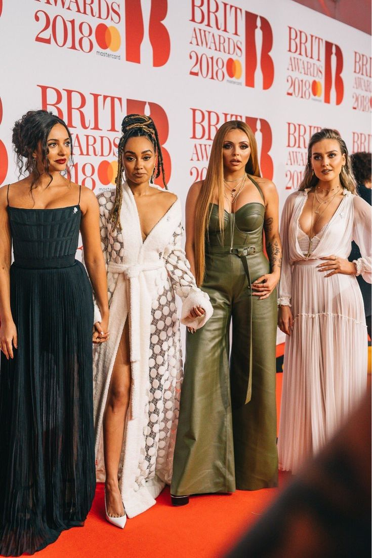 Little mix at the brits 2018  awards