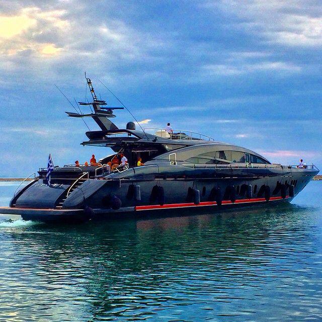 "M/Y ""O'PATI""- 40m -  Spotted in Port Patras, Greece by @iliaskanakaris #yachtandsail"