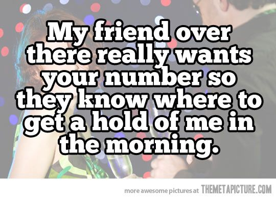 Epic pick-up line… #Humor
