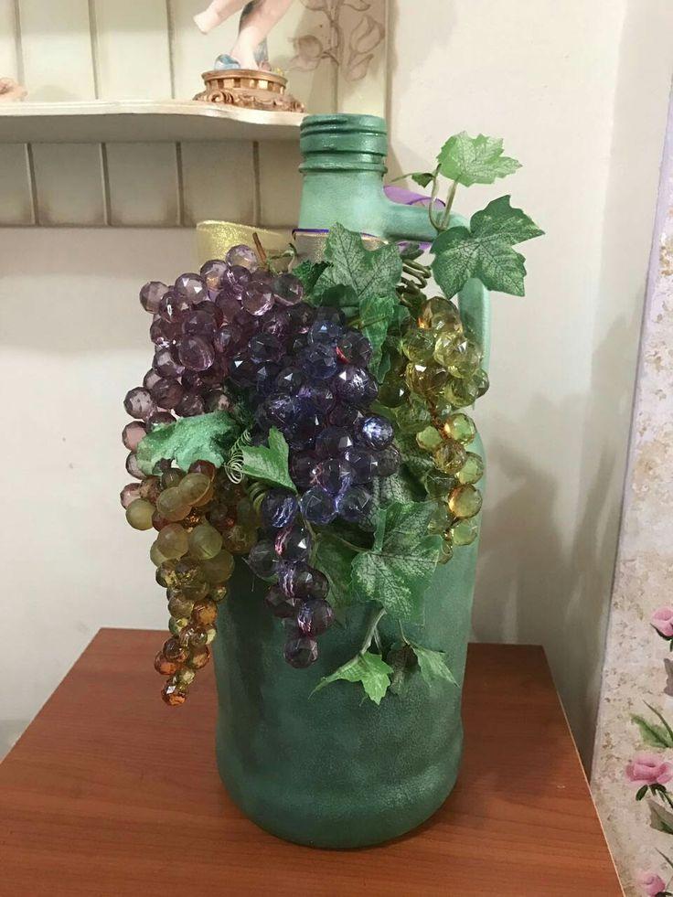 Abajur altı #cam boyama # Handmade