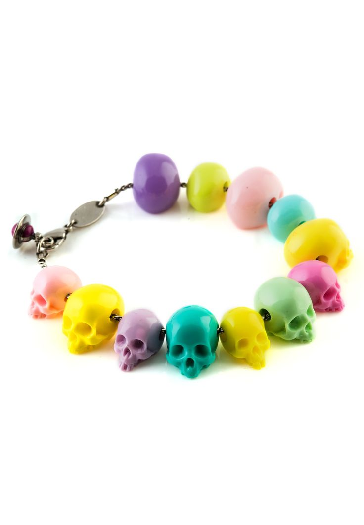 vivienne westwood skull bead bracelet bought this the