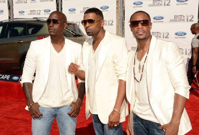 Ginuwine, Tyrese Gibson, and Durrell Babbs