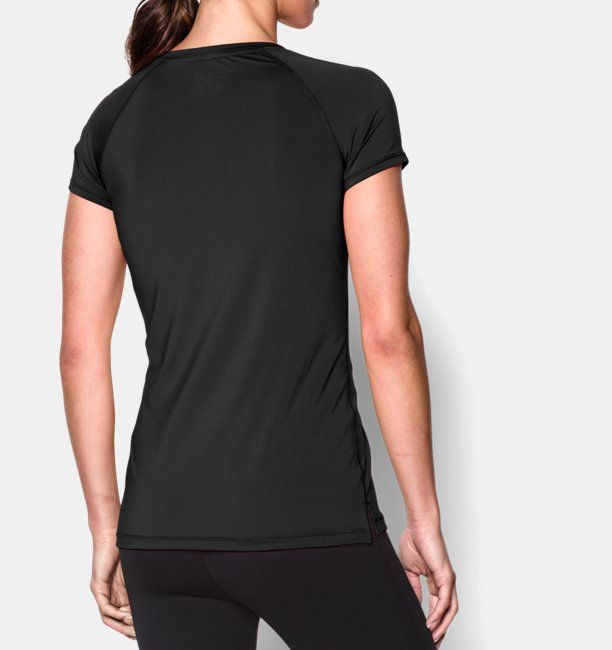 Damen Shirt UA HeatGear® Armour (kurzärmlig)