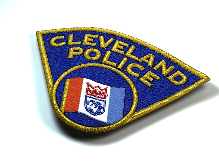 One of my old favorites, though we never really found a use for it -- I modeled a Cleveland Police Dept. patch in Lightwave.