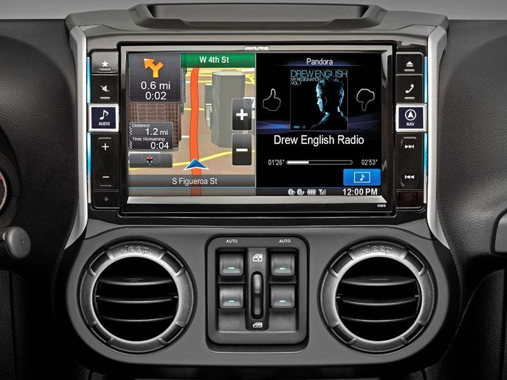 """Alpine X009-WRA-Alpine's Integration Technology for 2011+ Jeep Wranglers! 9"""" Anti-Glare Touch Screen Completely Replaces Factory Head Unit and Console Easily Integrates Smartphone Operating Systems Monitor Vehicle Functions and Engine Codes Fits: 2011 to 2016 Jeep Wrangler JK & Unlimited"""