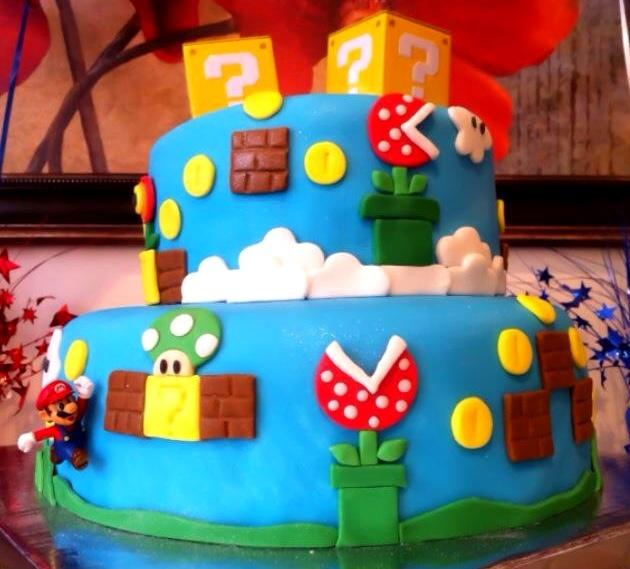 Super Paper Mario Cake Mix