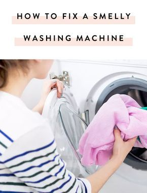 Have a smelly washing machine? Here's a simple fix for both top or front-load machines.