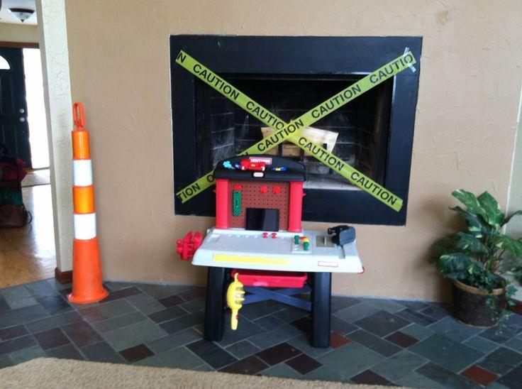 Construction Theme Birthday Party Handy Manny Bob The Builder 4th Birthday Toddler